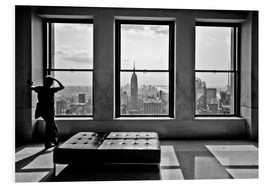 Hartschaumbild  New York - Top of the Rock - Thomas Splietker