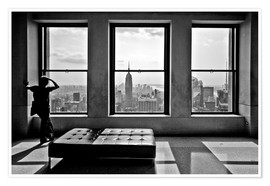 Premium-Poster  New York - Top of the Rock - Thomas Splietker