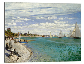 Alubild  Regatta in Sainte-Adresse - Claude Monet