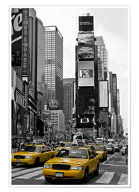 Poster  NEW YORK CITY Times Square - Melanie Viola