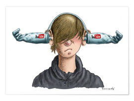 Premium-Poster  You Tube Boy - Marian Kamensky