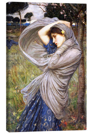 Leinwandbild  Boreas - John William Waterhouse