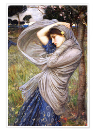 Premium-Poster  Boreas - John William Waterhouse