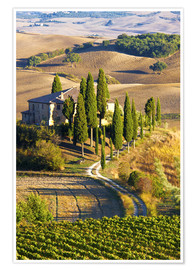 Poster  Belvedere-Haus in San Quirico - Terry Eggers