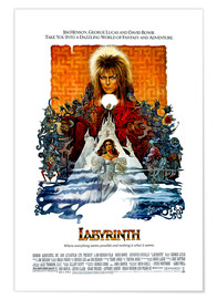 Poster  Die Reise ins Labyrinth