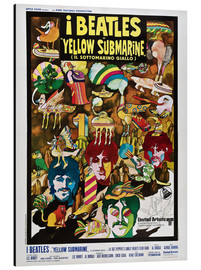 Alubild  The Beatles - Yellow Submarine (italienisch)