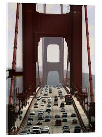Acrylglasbild  Golden Gate Bridge - Marcel Schauer