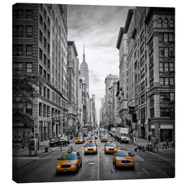 Leinwandbild  NEW YORK CITY 5th Avenue Verkehr - Melanie Viola