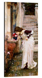 Alubild  Das Heiligtum - John William Waterhouse