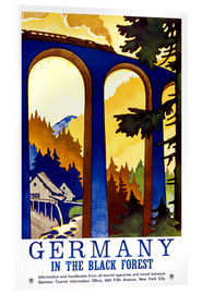 Acrylglasbild  Deutschland - Schwarzwald - Travel Collection