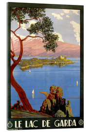 Acrylglasbild  Italien - Le Lac de Garda - Travel Collection