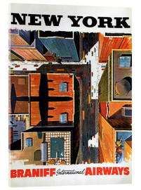 Acrylglasbild  New York - Travel Collection