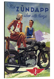 Alubild  Mit Zündapp über alle Berge - Advertising Collection