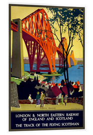 Acrylglasbild  Forth Bridge London Railway - Travel Collection