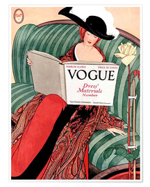 Premium-Poster  Die Vogue   Vintage opulent - Advertising Collection