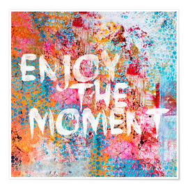 Poster  Enjoy the moment II - Andrea Haase