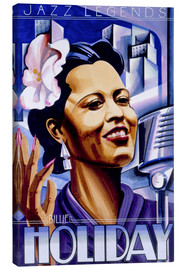 Leinwandbild  Billie Holiday - Roger Pearce