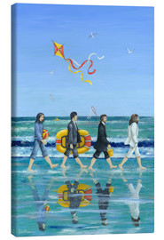 Leinwandbild  Abbey Road Beach - Peter Adderley
