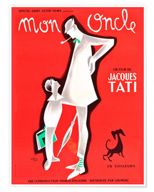 Poster Mein Onkel, Jacques Tati