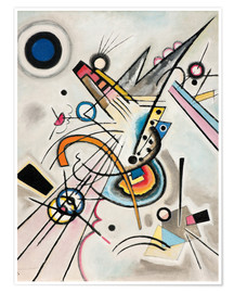 Premium-Poster  Diagonale - Wassily Kandinsky