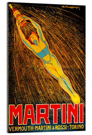 Acrylglasbild  Martini Vermouth Martini & Rossi Torino - Advertising Collection