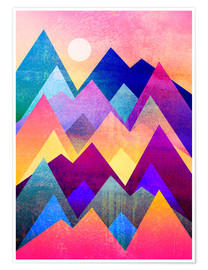 Poster  A new day - Elisabeth Fredriksson