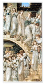 Premium-Poster  Die goldene Treppe - Edward Burne-Jones