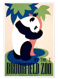 Premium-Poster  Brookfield Zoo - Advertising Collection