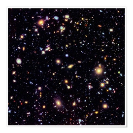 Premium-Poster  Hubble Extreme Deep Field - Nasa