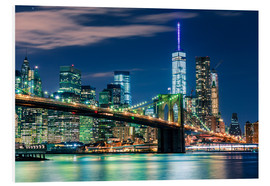 Sascha Kilmer - New York Skyline und Brooklyn Bridge