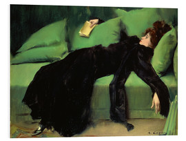 Hartschaumbild  Nach dem Ball - Ramon Casas i Carbo