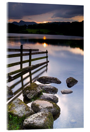 Acrylglasbild  Loughrigg Tarn in England - Jeremy Lightfoot