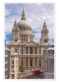 Premium-Poster St. Pauls Cathedral, London