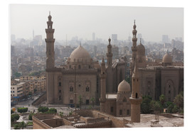 Hartschaumbild  Mosque of Sultan Hassan in Cairo old town, Cairo, Egypt, North Africa, Africa - Martin Child