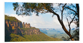 Hartschaumbild  The Three Sisters in Australien - Matthew Williams-Ellis
