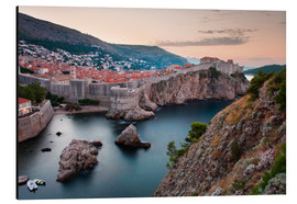 Alubild  Dubrovnik bei Sonnenaufgang - Matthew Williams-Ellis