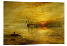 Acrylglasbild  Fort Vimieux - Joseph Mallord William Turner