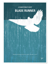 Poster  No011 My Blade Runner minimal movie poster - chungkong
