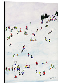 Alu-Dibond  Toboggan Or Not To Toboggan, 1990 - Judy Joel