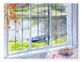 Poster  Blick aufs Boot - Timothy Easton