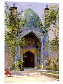 Acrylglasbild  Chanbagh Madrasses, Isfahan - Bob Brown