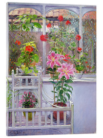 Acrylglasbild  Im Wintergarten - Timothy Easton
