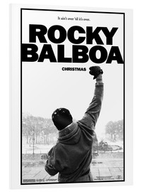 Hartschaumbild  Rocky Balboa - Entertainment Collection