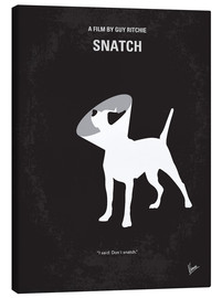 Leinwandbild  No079 My Snatch minimal movie poster - chungkong