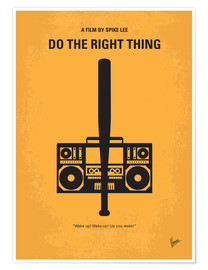 Premium-Poster Do The Right Thing