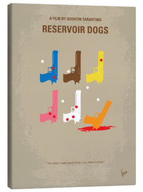 Leinwandbild  No069 My Reservoir Dogs minimal movie poster - chungkong