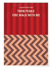 Premium-Poster Twin Peaks Fire Walk With Me