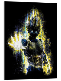 Acrylglas  Vegeta Fury - Barrett Biggers