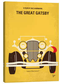 Leinwandbild  No206 My The Great Gatsby minimal movie poster - chungkong