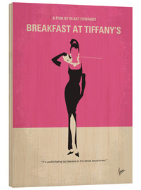 Holzbild  Breakfast At Tiffany's - chungkong